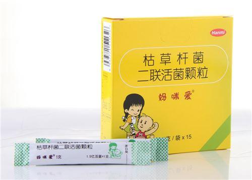 한미약품 중국 현지법인 북경한미약품(총경리 임해룡)은 최근 어린이 유산균정장제 '마미아이'가 중국 정부로부터 '중국유명상표(中國馳名商標)'를 획득했다고 일 밝혔다.