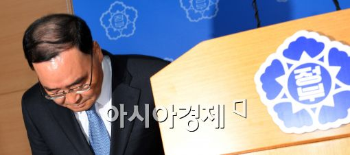 27일 사의를 표명한 정홍원 국무총리