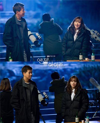 ▲엔젤아이즈 구혜썬과 이상윤(사진:SBS 제공)