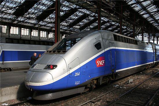 프랑스 알스톰의 TGV