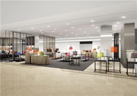갤러리아명품관 이스트 1층 매장