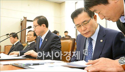 [포토]안행위 출석한 남상호 소방방재청장