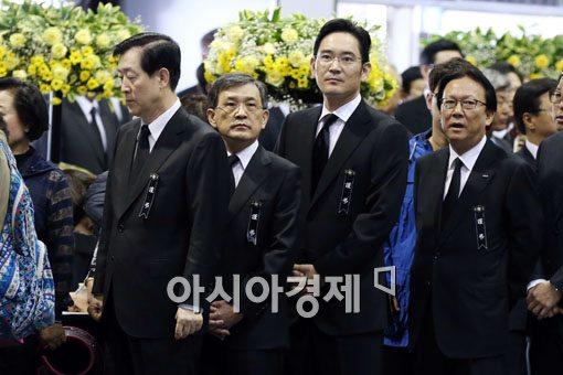 [포토]세월호 분향소 찾은 삼성사장단