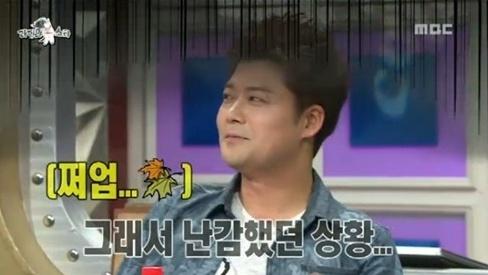 ▲전현무 MBC '황금어장-라디오스타' 출연.(사진:MBC '황금어장-라디오스타' 방송 캡쳐)