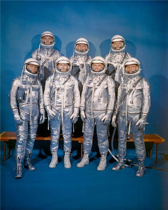 ▲1959년 최초로 입었던 우주복.[사진제공=NASA]