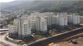 올 첫 장기전세주택(시프트) 공급이 이뤄진 서초구 내곡지구7단지 전경 / 서울시