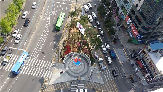 태극기 광장