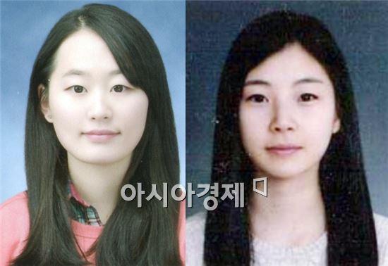 김호진(왼쪽)·박신희