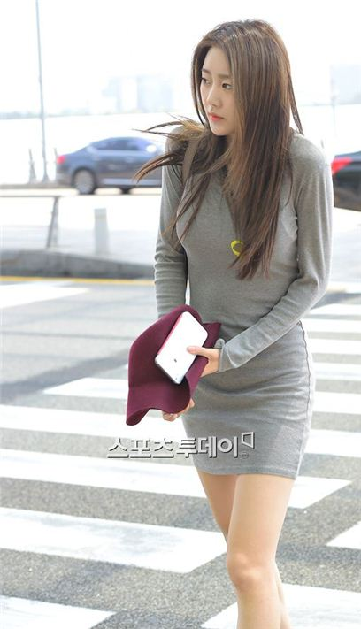 ▲걸그룹 달샤벳의 멤버 수빈이 교통사고를 당했다.