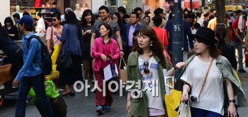 [포토]한국 찾은 외국인 관광객들