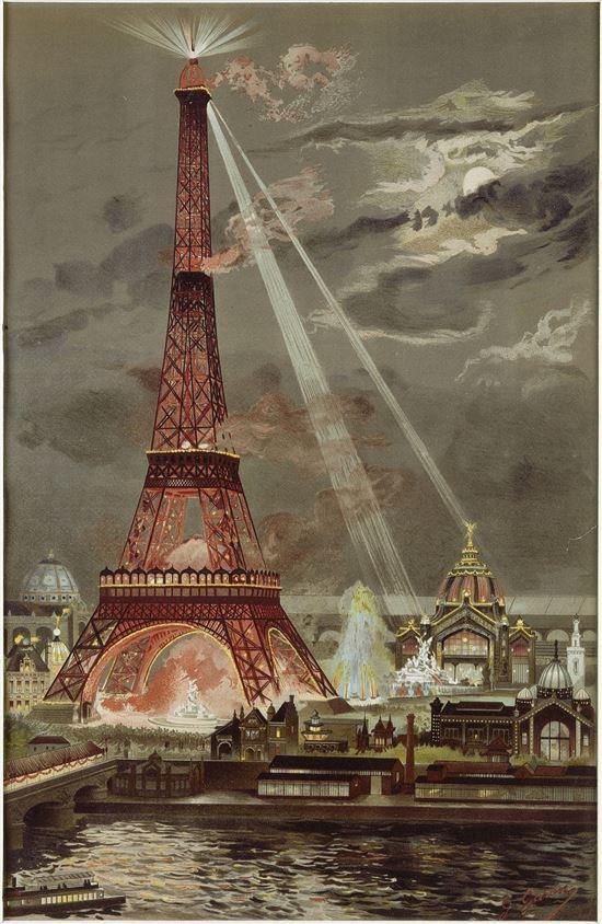 조르주 가랑, 에펠탑