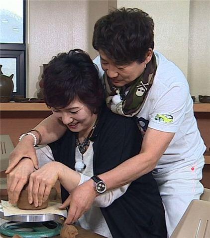 ▲JTBC '님과함께'에 출연 중인 박찬숙 이영하.(사진:JTBC '님과함께' 제공)