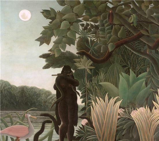 앙리 루소, 뱀을 부리는 여인.