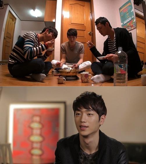 ▲서강준 숙소.(사진:SBS 방송캡처)