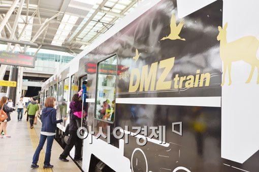 [포토]평화열차 DMZ 트레인을 소개합니다