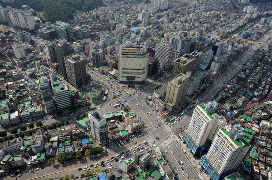 서울대 입구역 사거리