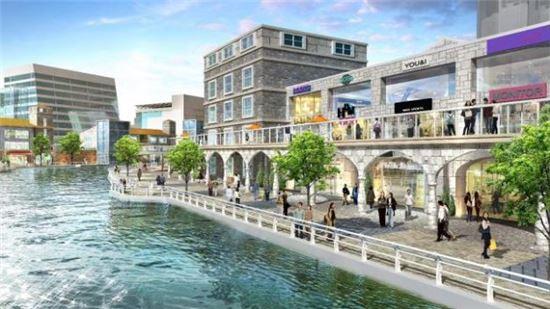 김포 한강신도시에 들어설 수변상업시설 '라베니체'