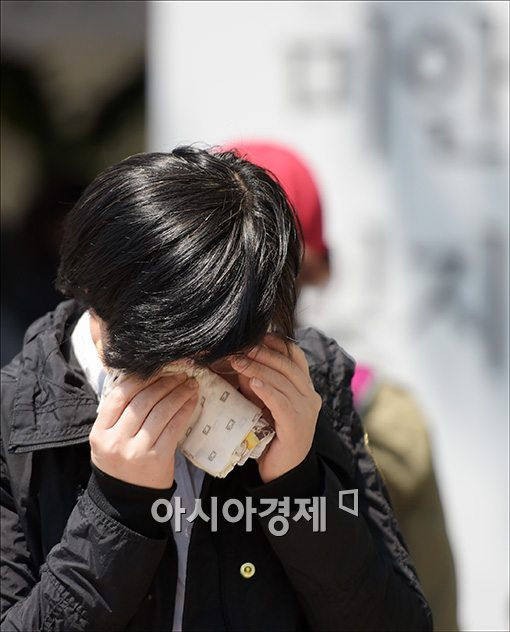 [포토]멈추지 않는 눈물