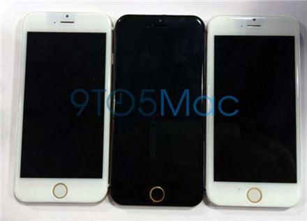 ▲애플 '아이폰6' 제품 목업 이미지. (출처 : 9to5Mac.com)