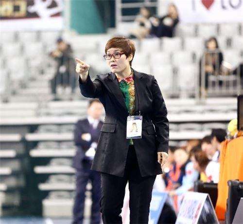 임오경 서울시청 여자 핸드볼팀 감독[사진 제공=대한핸드볼협회]