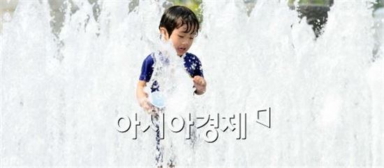 서울 낮 최고 29도 한여름 날씨