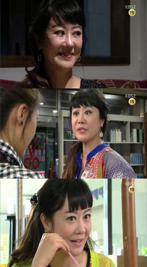 ▲KBS2 사랑과 전쟁 이하얀 악녀 연기. (출처: KBS2 사랑과 전쟁 방송화면 캡처)
