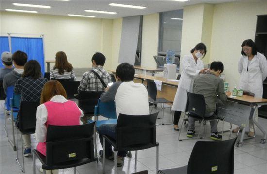 홍역 예방 접종