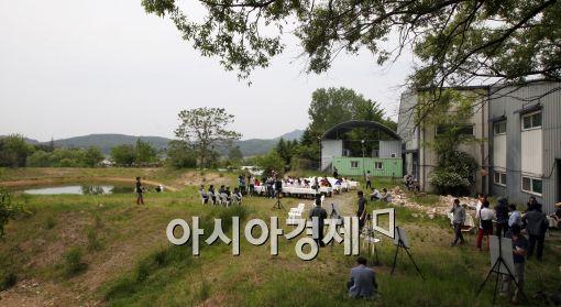 [포토]베일에 쌓였던 금수원이…일부 공개