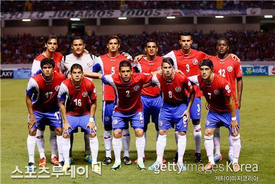 코스타리카 축구대표팀 /Getty Images