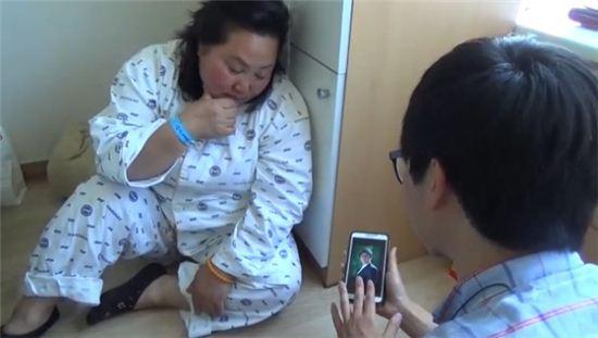 ▲4년전 해군 함정 참수리호 침몰로 아들을 잃은 세월호 생존자의 안타까운 사연이 알려졌다.(사진:JTBC '뉴스9' 영상 캡처)