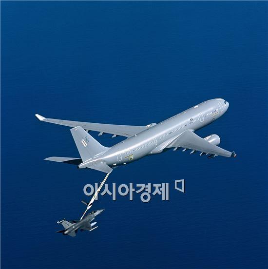 에어버스 D&S사의 A330 MATT 공중급유기