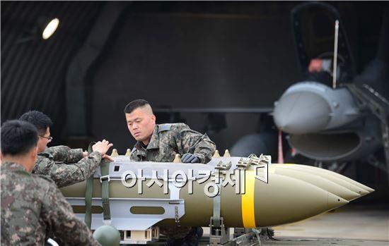 공군 20전투비행단은 서북도서 지역에서 상황이 발생하면 최우선으로 출동하는 KF-16 전투기를 운용하고 있다.