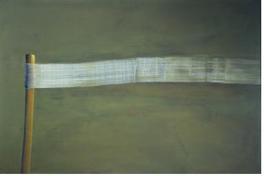 <2획>, 1997, 캔버스에 템페라, 160x240cm