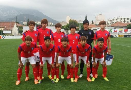 U-21 축구대표팀[사진=대한축구협회 제공]