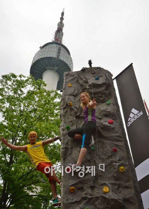 [포토]2014 아디다스 락스타 서울 볼더링 대회