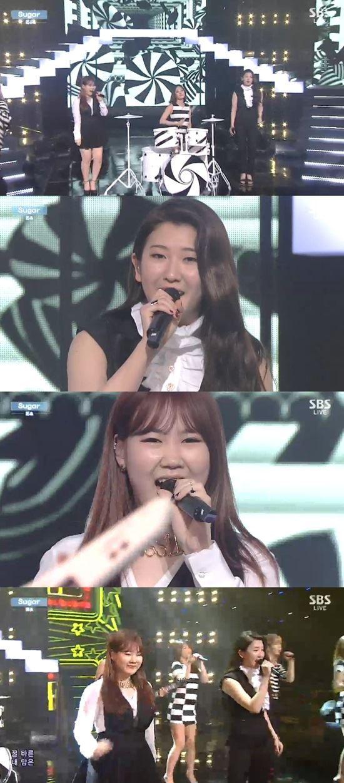 15& /SBS '인기가요' 방송 캡처