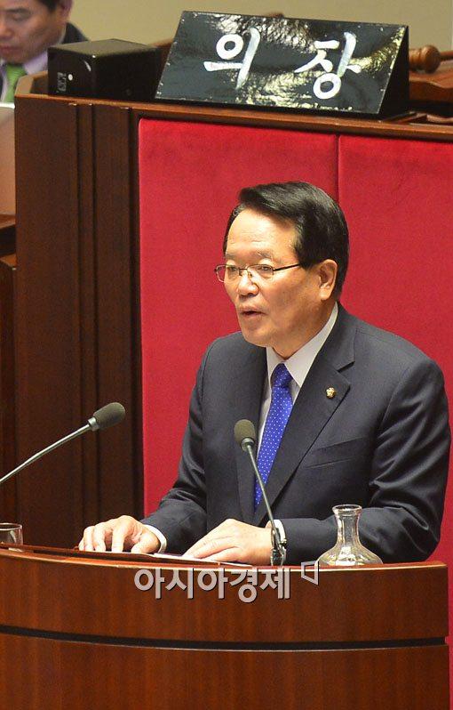 [포토]신임 국회의장에 정의화 의원 당선