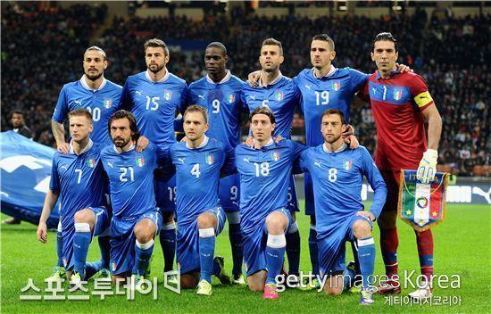 ▲이탈리아 국가대표팀 (사진: gettyimages)