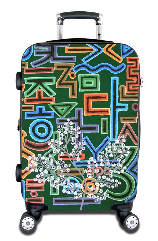 제이월드 인터네셔널-이김천 콜라보레이션 여행용 가방