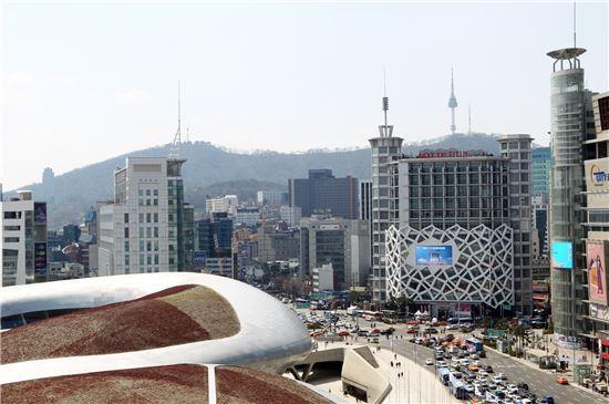 롯데피트인 동대문점(사진 오른쪽)<사진=롯데피트인>