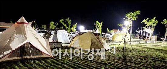 고흥군, 해창만 오토캠핑장