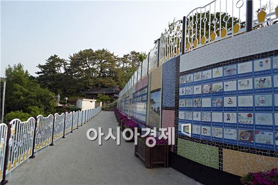 """고흥군이 군민의 쉼터 """"옥하공원"""" 을 새롭게 단장했다."""