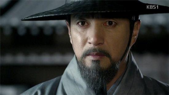 KBS1 드라마 '정도전'에서 정도전 ( 출처: KBS )