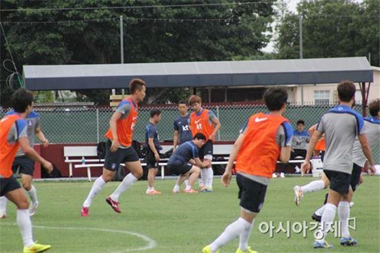 축구대표팀 전지훈련
