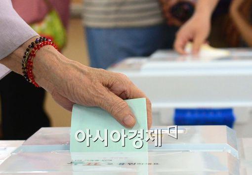 ▲대선 투표용지가 울산에 이어 파주에서도 발견돼 논란이 일었다.