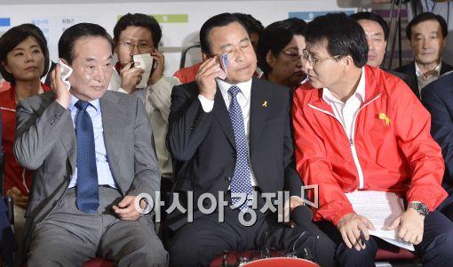 """[6·4선거]새누리 """"부산·경기 사수하면 선방한 것"""""""