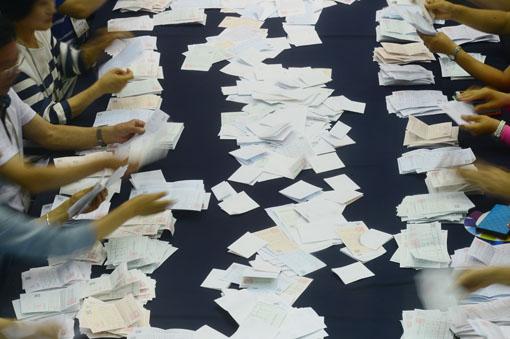 ▲경기도지사 선거 무효표 14만9653표 집계