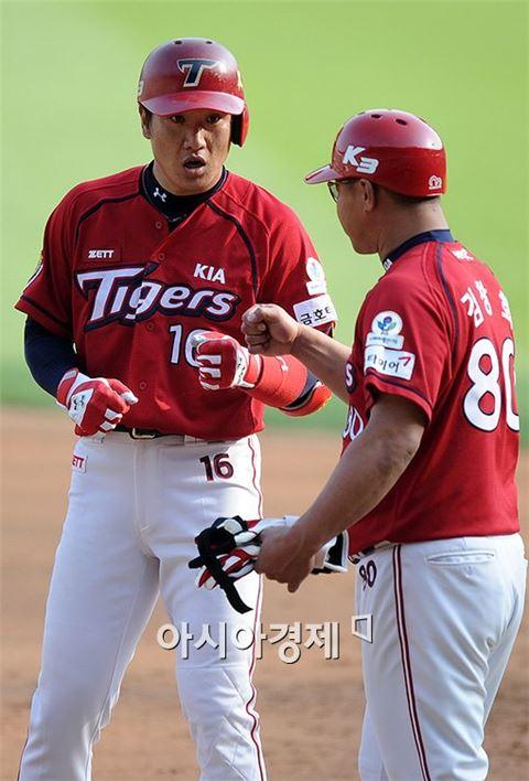 [포토]김주찬, '선취타의 주인공은 바로 나'