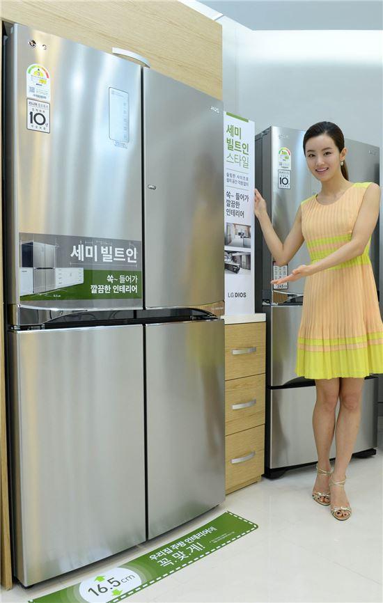 LG전자 세미 빌트인 냉장고