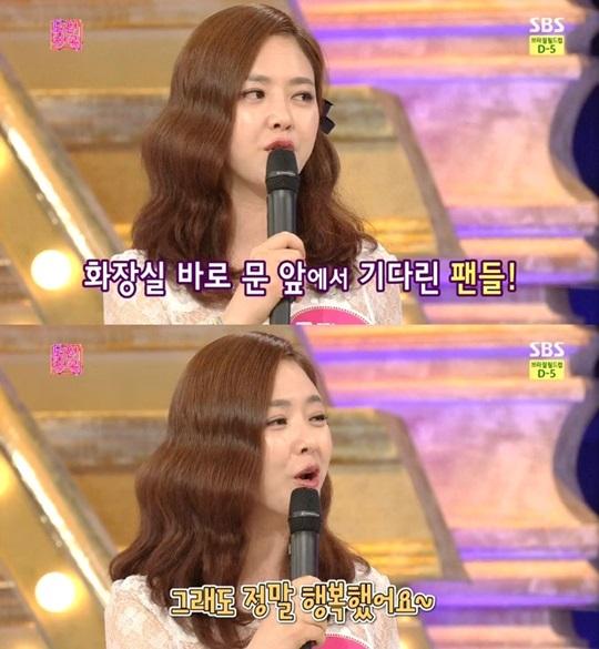 ▲가수 금잔디. (사진: SBS '도전천곡' 방송 캡처)